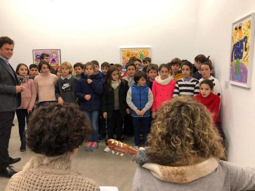 Protegido: Exposición 5º Primaria en la Galeria Juan Silió