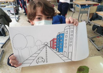 """Protegido: Arts and Crafts – 4ºD – """"One Point Perspective"""""""