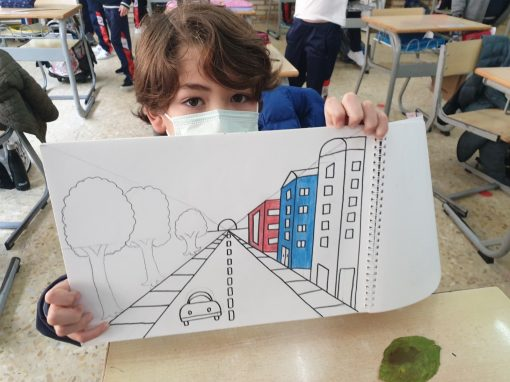 "Protegido: Arts and Crafts – 4ºD – ""One Point Perspective"""
