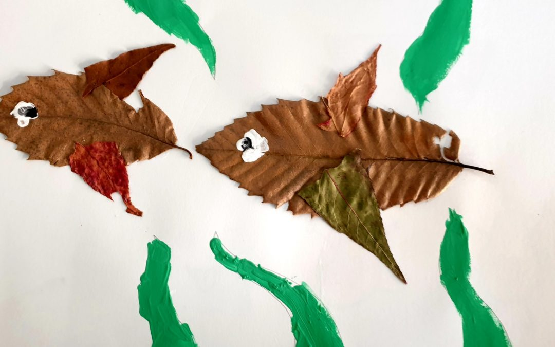 "Protegido: 4º de Primaria Arts and Crafts – ""Animals made of dried leaves"""