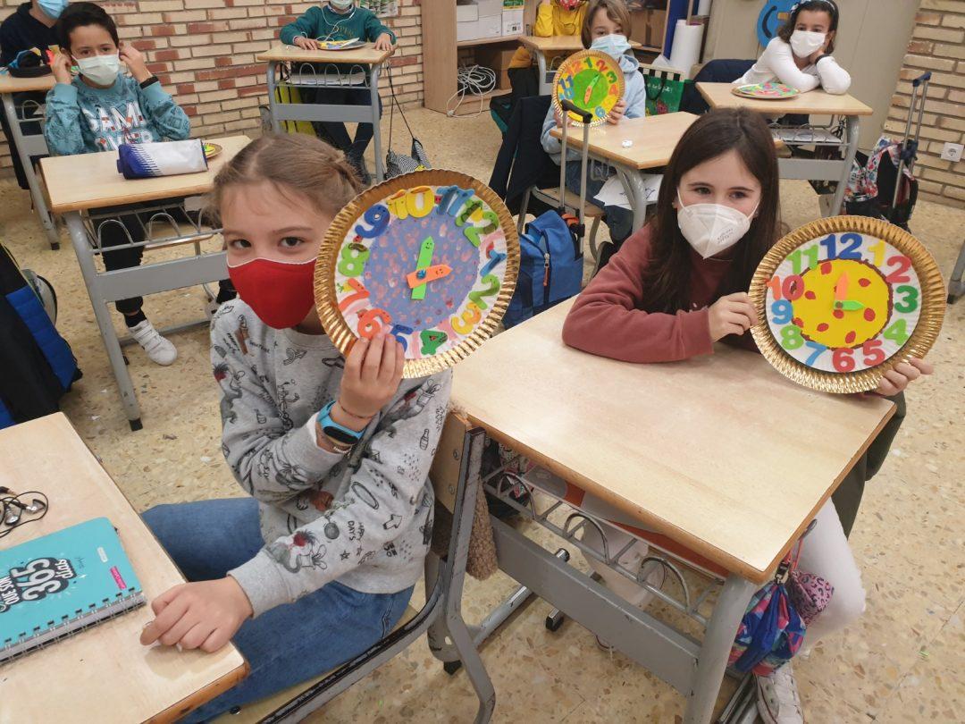 """Protegido: 4º de Primaria- Arts and Crafts: """"Handmade wall clock"""""""