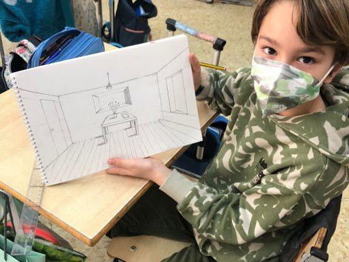 Protegido: 4º de Primaria: Arts perspective indoor