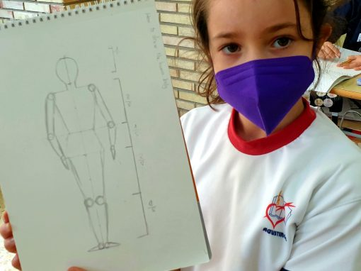 Protegido: 4° Primaria – Arts & Crafts: How to draw the human body