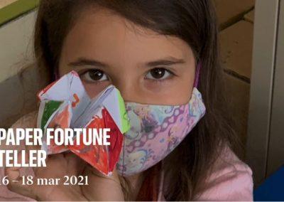 Protegido: 1º Primaria: We love using paper fortune tellers! A fantastic tool for Orality!