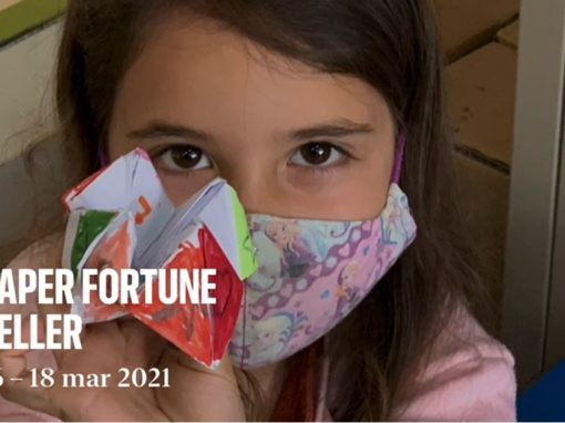 Protegido: 1º Primaria: We love using paper fortune tellers! A fantastic tool for Orality!
